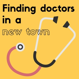 Tips for finding doctors in a new town